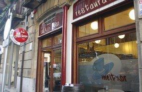 Fachada del Meltxor, en la calle Arrasate del Centro de San Sebastián.