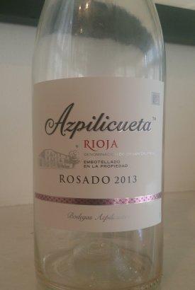 vino Azpilicueta Rosado 2013