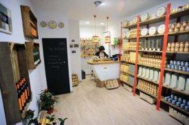 Interior de la tienda de C/ Elkano