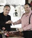 Ferran Adrià y José Gómez