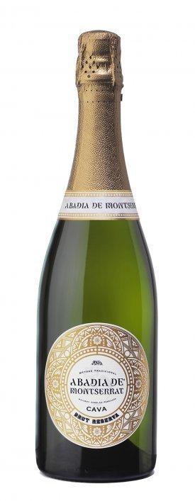 Botella de Cava Abadía Montserrat