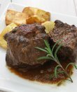 Un plato de carne