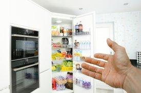 Alimentos no guardar frigorífico