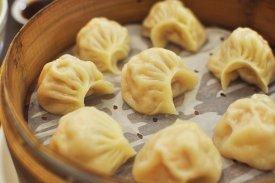 Cocinar al vapor: dumplings