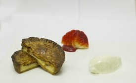 Gâteau basque, pantxineta y goxua
