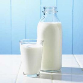 La leche es fuente de calcio