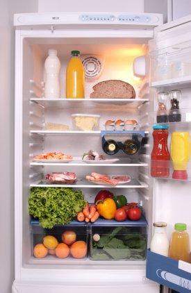 Alimentos en el frigorífico