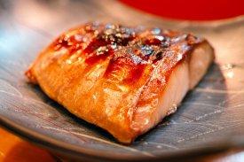 Piel crujiente pollo y pescado