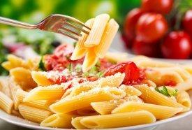 Un plato de pasta