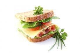 un sandwich de lo más sano
