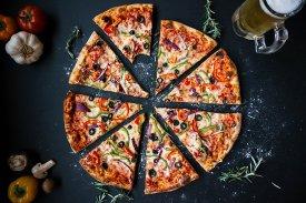 Truco hornear dos pizzas a la vez