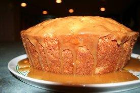 Una apetitosa tarta de manzana
