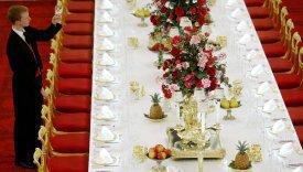 Una mesa para invitados