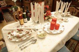 Una mesa ya preparada