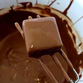 Utensilios cocinar chocolate
