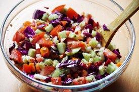 Utensilios ensalada
