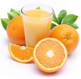 naranja y amor