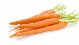 La zanahoria en origen era blanca
