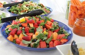 Frutas para la ensalada