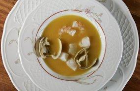 Una sopa de pescado